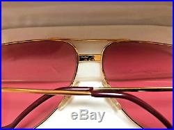 CARTIER VENDOME LAQUE Vintage Eyeglasses / Sunglasses Louis Trinity with Case