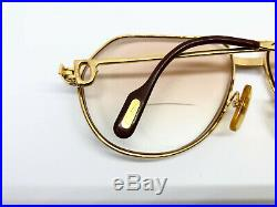 CARTIER VENDOME SANTOS GOLD Vintage Eyeglasses / Sunglasses