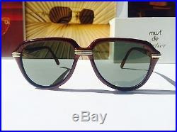 0a0cf1bb7fe55 Cartier Vitesse 1991 Vintage Sunglasses Lunettes Sonnenbrille Eyeglasses