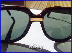 Cartier Vitesse 1991 Vintage Sunglasses Lunettes Sonnenbrille Eyeglasses