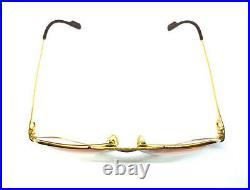CARTIER Vendome LOUIS 59-14-140 Vintage Eyeglasses Sunglasses with Case 21008