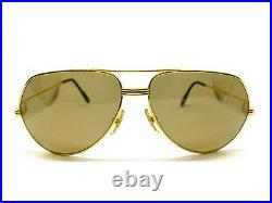 CARTIER Vendome LOUIS 62-14-140 Vintage Eyeglasses Sunglasses with Case 21117