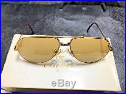 CARTIER Vendome SANTOS 1983 Vintage Eyeglasses / Sunglasses with BOX