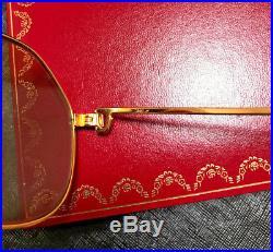 CARTIER Vendome SANTOS 1983 Vintage Eyeglasses / Sunglasses with Case