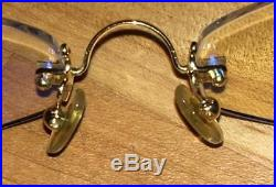 CARTIER Vintage Rimless Gold frames Eyeglasses Paris France 135 3050937