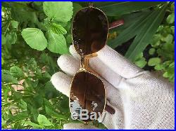 CARTIERs panthere 18k gold filled sunglasses, made in france