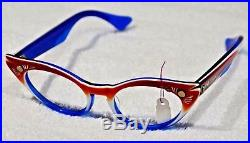 COOLEST VINTAGE DESIGNER Pointy Cat Eye Glasses- LUMAR 671 FRANCE