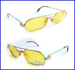 Cartier 18k Santos Eyeglasses Sunglasses