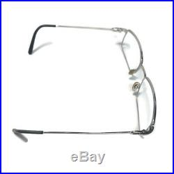 Cartier Classic Vintage Silver Eyewear Glasses Frames Rare Wire Metal