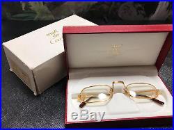 Cartier DEMI LUNE Reading Glassess Vintage Eyeglasses / Sunglasses Drake Migos