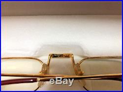 Cartier DEMI LUNE Reading Glassess Vintage Eyeglasses Sunglasses Quavo WORKIN ME
