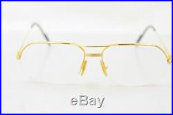 Cartier Eyeglass Frame Vendome Gold with Prescription Lenses 805229