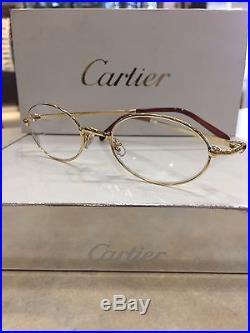 Cartier Eyewear T8100350 Round Eyeglasses