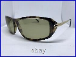 Cartier Gold Aspen Havana Sunglasses Glasses Eyeglasses Frame Vintage