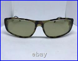 Cartier Gold Aspen Havana Sunglasses Glasses Eyeglasses Frame Vintage Buffs Wood