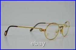 Cartier Gold Eyeglasses, NOS, Authentic, Vintage, Exclusive Must de Cartier