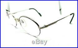 Cartier Louis Half Rimless Vintage! Eyeglasses / Sunglasses Santos Silver Gold