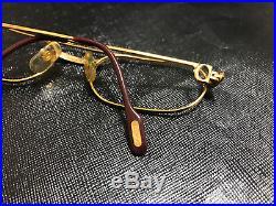 Cartier Louis Trinity Vintage Eyeglasses / Sunglasses Drake Migos hiphop