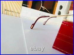 Cartier Must Laque Santos Vintage Sunglasses Lunettes Sonnenbrille Eyeglasses