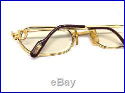 Cartier Must Santos Vintage! Eyeglasses / Sunglasses Louis Panthere trinity