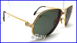 Cartier Panthere 1988 Vintage Eyeglasses / Sunglasses 63-16 Louis Trinity santos