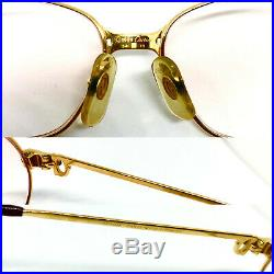 Cartier Panthere 1989 GOLD Vintage Eyeglasses / Sunglasses Louis santos