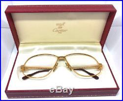 Cartier Panthere GOLD BOX Vintage Eyeglasses / Sunglasses vendome Louis santos