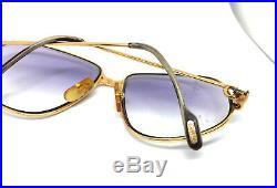 Cartier Panthere GOLD Vintage Eyeglasses / Sunglasses Louis santos
