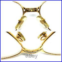 Cartier Panthere SM 1989 GOLD Vintage Eyeglasses Sunglasses Louis santos 11024