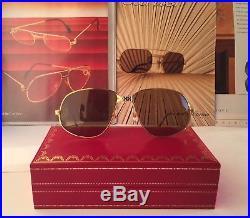 f1db5fa966 ... 858023cbced Cartier Panthere Windsor Vintage Sunglasses Lunettes  Sonnenbrille Eyeglasses ...