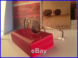Cartier Panthere Windsor Vintage Sunglasses Lunettes Sonnenbrille Eyeglasses