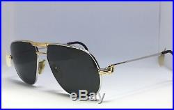 Cartier Paris Vintage Vendome Gold Tone Mens Frames Eyeglasses 59-14 France