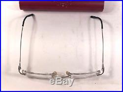 Cartier Platinum Eyeglasses Frames 3998618 20 140 Thin Made in France VTG