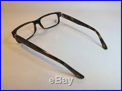 Cartier Premiere Luxury Tortoise Eyeglasses 54-16 Hand Made in France Very Rare