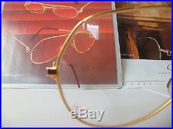 Cartier Red Laque Santos Vintage Sunglasses Lunettes Sonnenbrille Eyeglasses