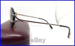 Cartier Rimless Silver Vintage Eyeglasses / Sunglasses 2point Vendome Santos