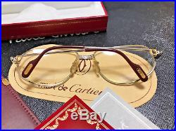 Cartier Romance Louis 1986 Silver Vintage Eyeglasses / Sunglasses Drake Migos