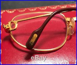 Cartier Romance Louis Vintage Eyeglasses / Sunglasses Trinity Drake Migos hiphop