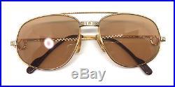 Cartier Romance Santos Vintage! Eyeglasses / Sunglasses Louis Panthere trinity