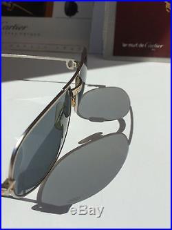 Cartier Romance Santos Vintage Sunglasses Lunettes Sonnenbrille Eyeglasses