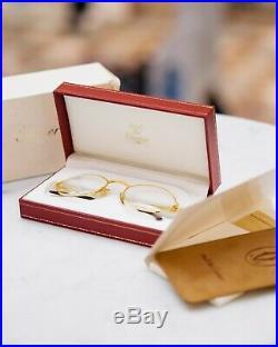 Cartier Saint Honore vintage eyeglasses NOS 53 size