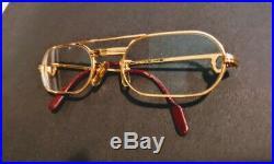 Cartier Santos Eyeglasses Prescription Occhiali Lunettes Vintage Brillen
