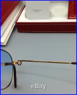 Cartier Saphir S Paris 1988 Made in France Brillen