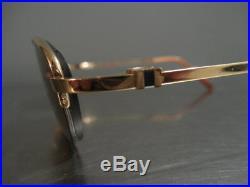 Cartier Semi Rimless Eyeglasses Sunglasses Frames Blue Sapphire France
