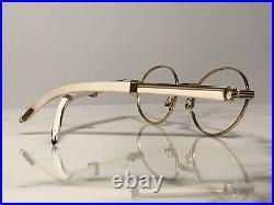Cartier Sully Giverny 22k Wood Vintage Glasses Sunglasses Eyeglasses Frames Buff