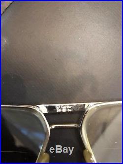 Cartier Tank 1988 59-14 Silver Vintage Eyeglasses / Sunglasses Vendome Santos