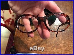 Cartier Tortoise Shell Glasses 140 Prescription eyeglasses