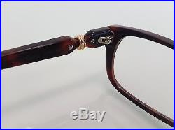 Cartier Trinity Luxury Tortoise Eyeglasses 55-15 Hand Made in France Very Rare