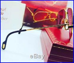 Cartier Vendome Laque Santos Vintage Sunglasses Lunettes Sonnenbrille Eyeglasses