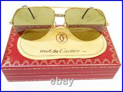 Cartier Vendome Santos Aviator Sunglasses Eyeglasses Vintage Mint conditon 4206